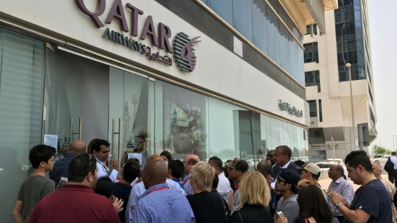 Trafic aérien perturbé dans le golfe l arabie sévit contre qatar