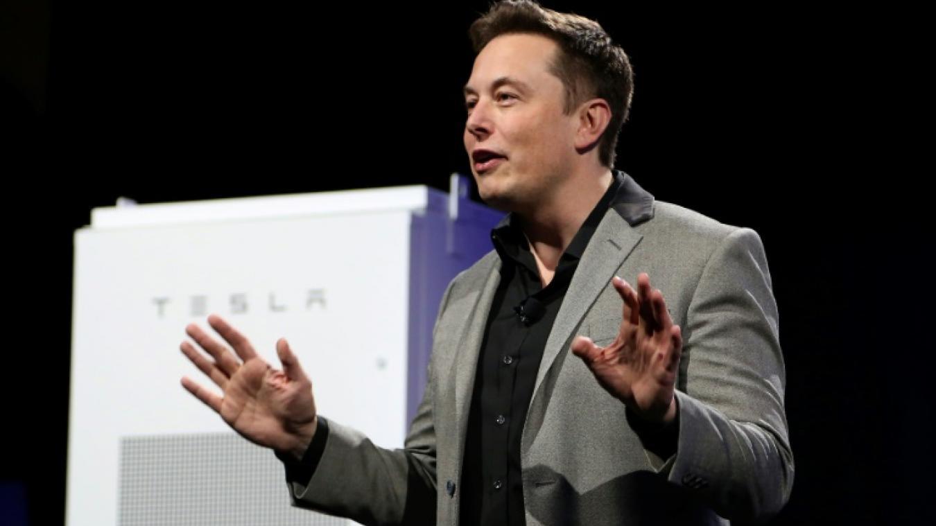 Elon Musk Le Co Fondateur Du Constructeur Automobile Tesla Hawthorne 1er