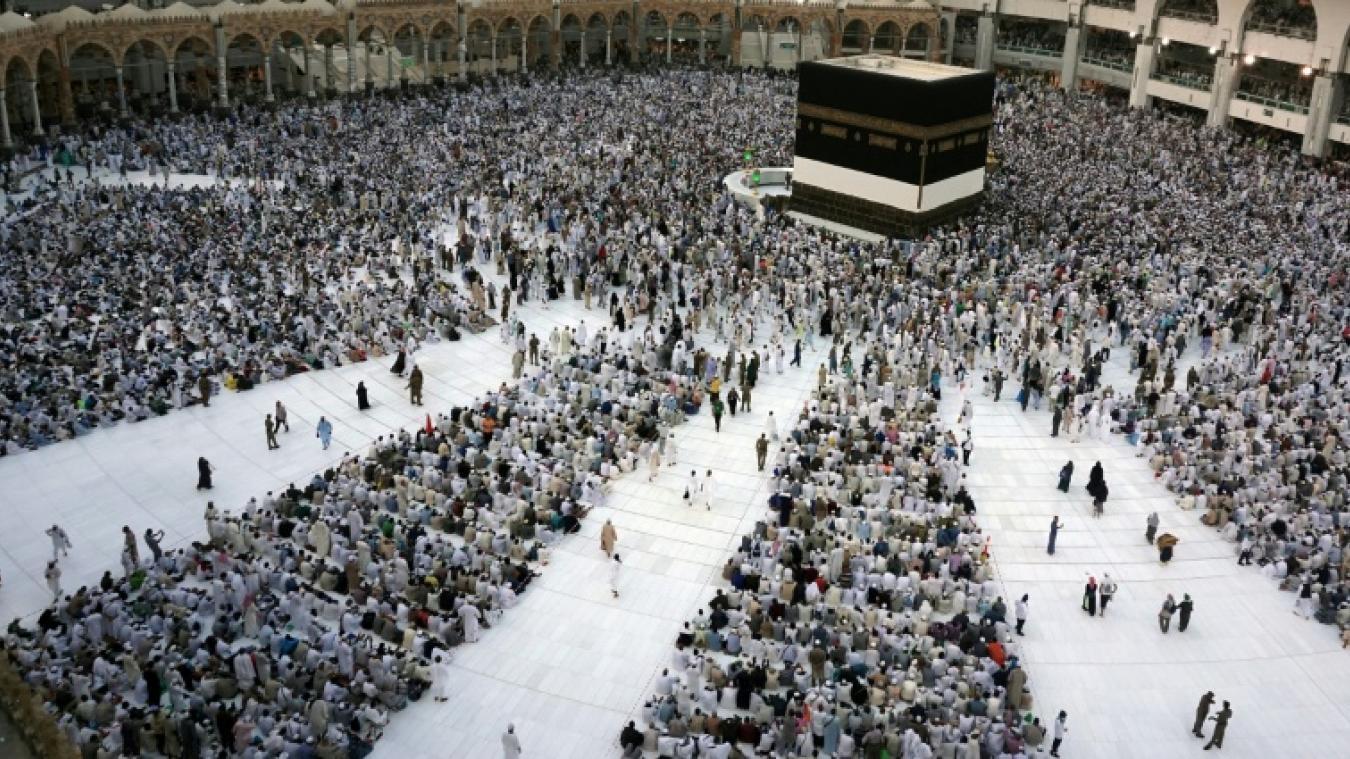 Entament Deux Mecque Plus Millions Pèlerinage Le À Musulmans La De QCtsrdh