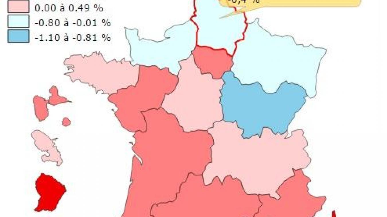 Les Hauts De France Enregistrent Le Pib Regional Le Plus Faible Du Pays