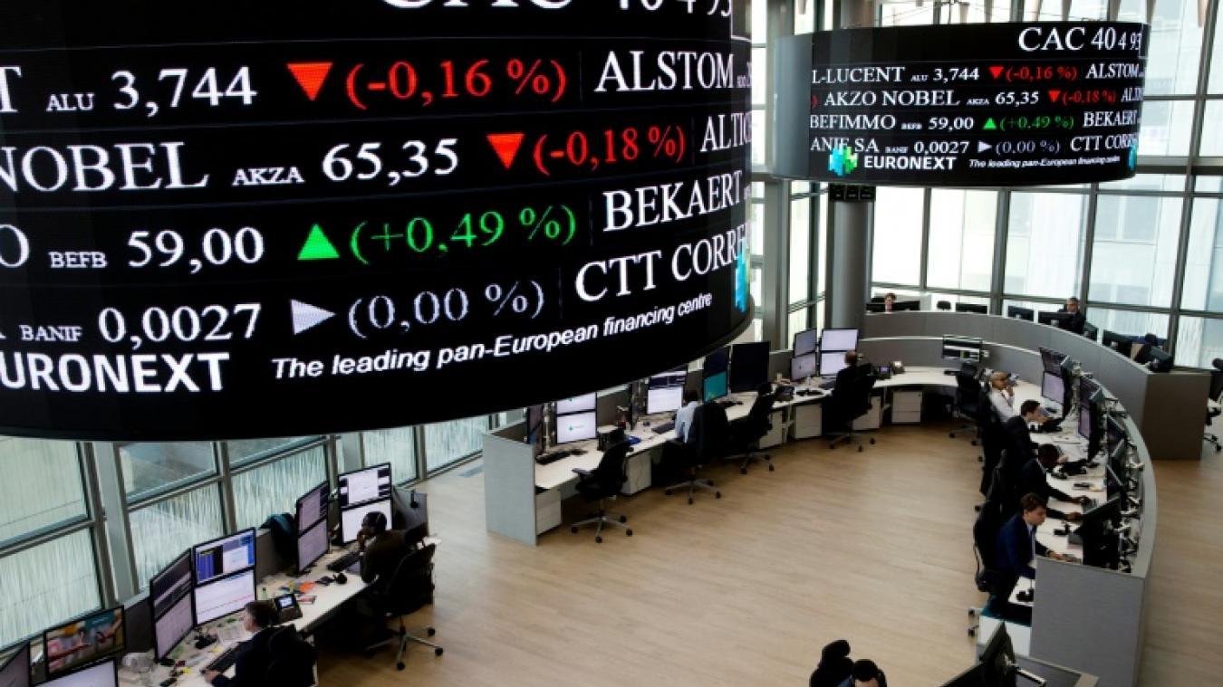 La Bourse de Paris en léger recul, séance terne — Marché