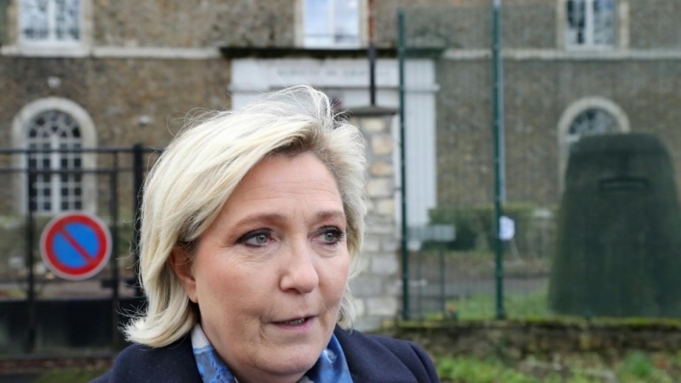Marine Le Pen se dit victime d'acharnement