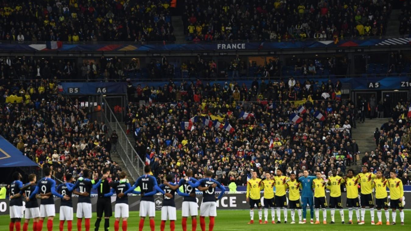 Deux visages pour une défaite — France-Colombie