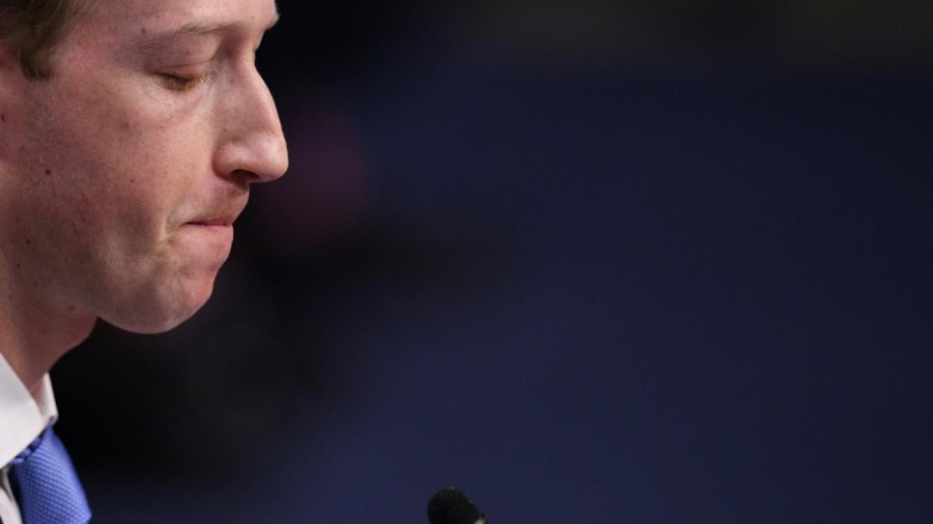 Facebook: Zuckerberg va dire au Congrès qu'il a fait une