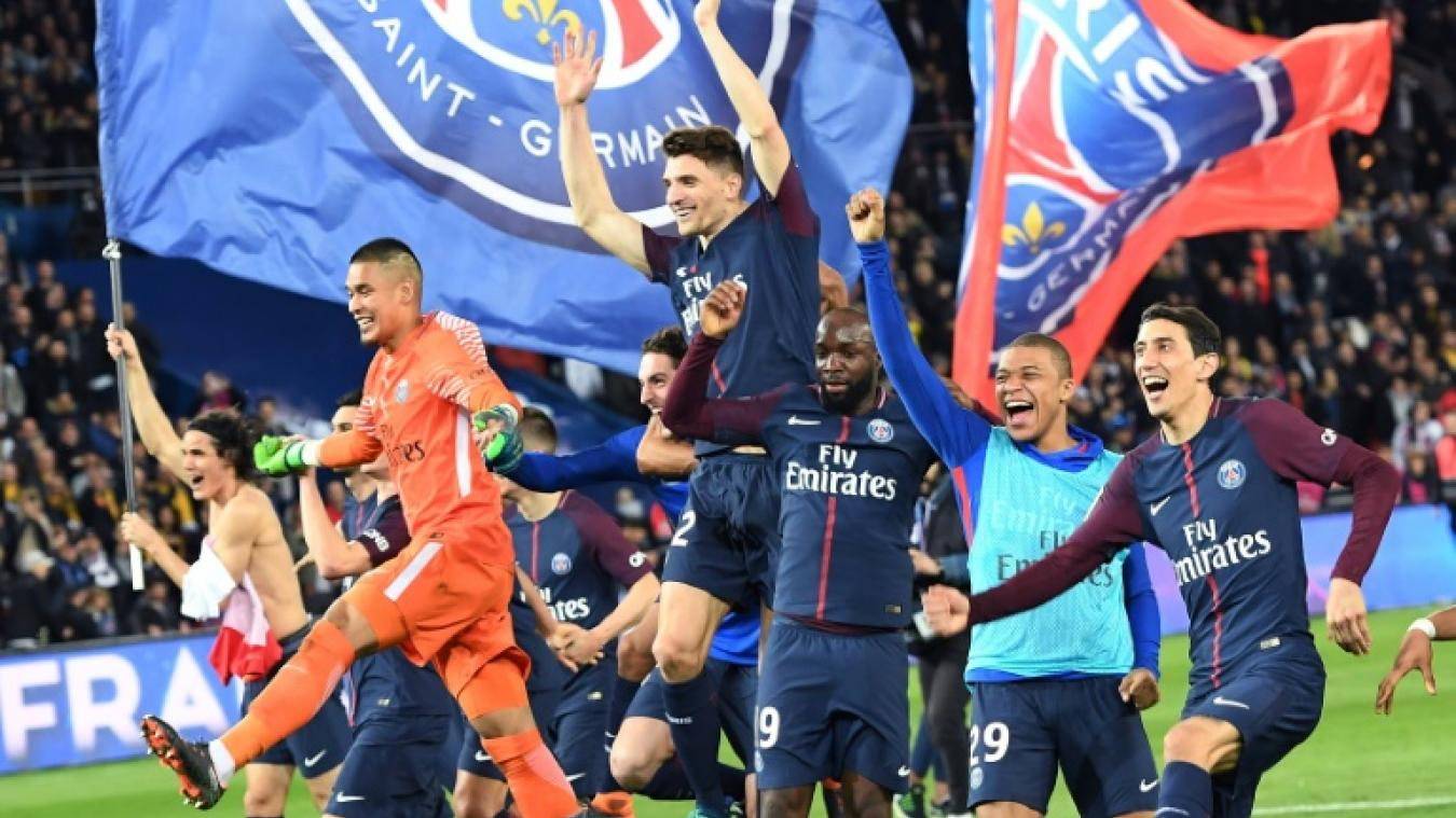 Septième titre de champion de France pour le Paris Saint Germain
