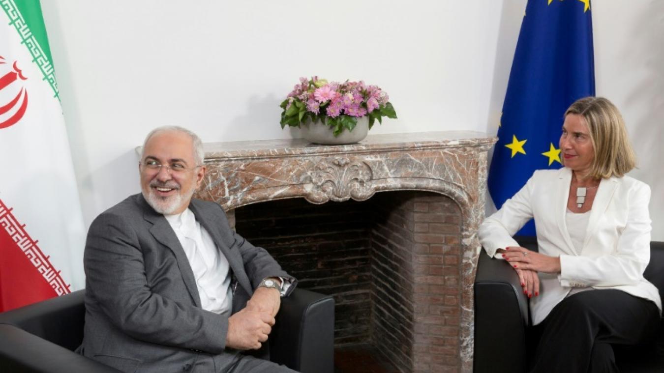 Nucélaire iranien : premier entretien Mogherini-Zarif à Bruxelles
