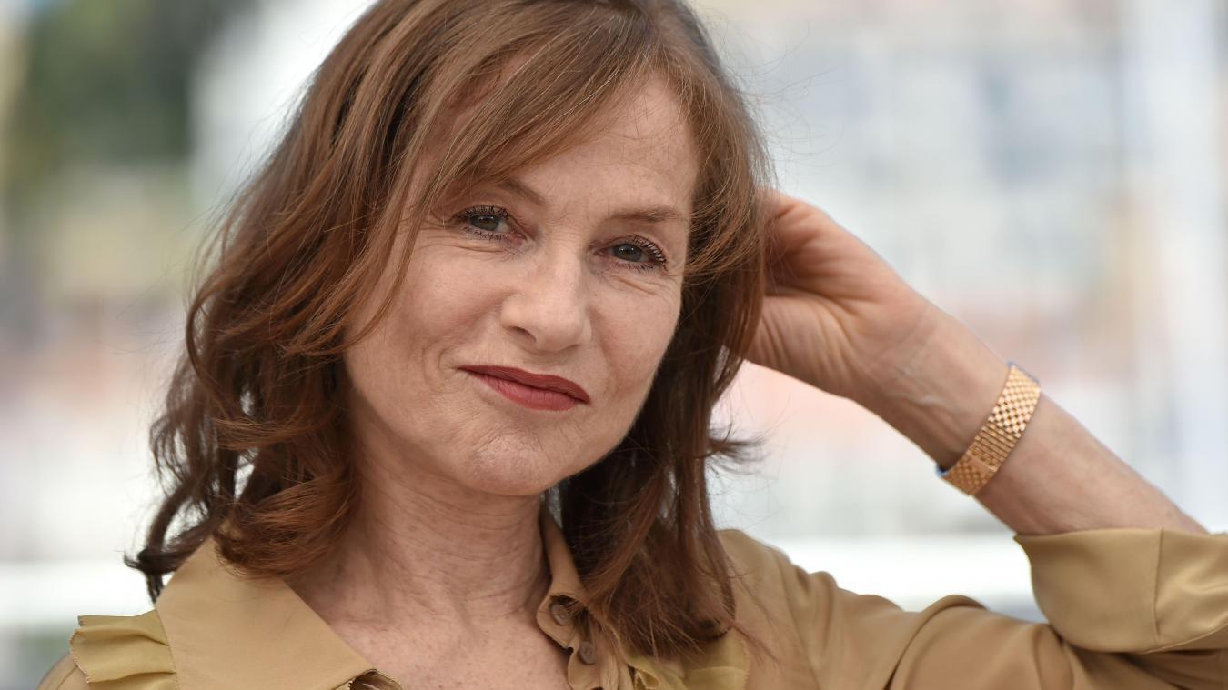 Isabelle Huppert Samedi Dernier Cannes PHOTO AFP