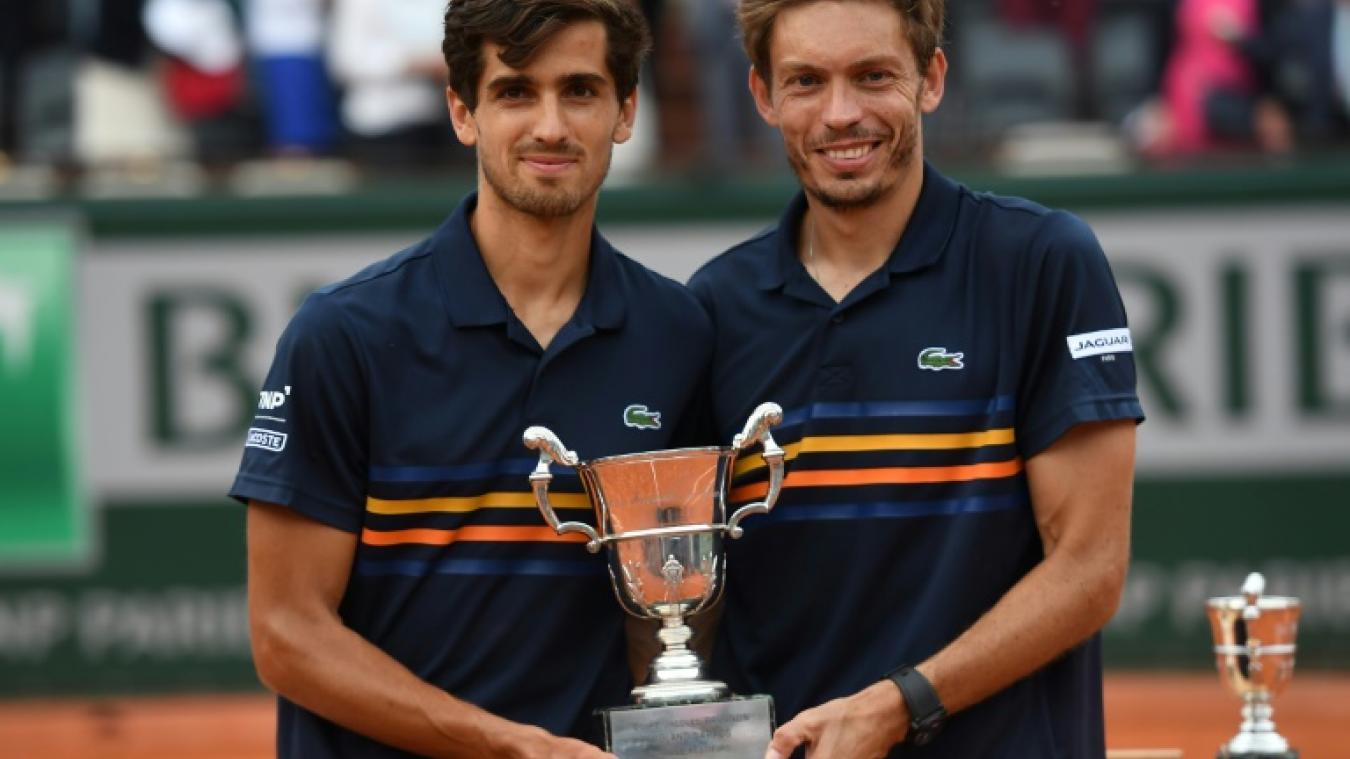 Nicolas Mahut et Pierre-Hugues Herbert remportent le double messieurs — Roland-Garros