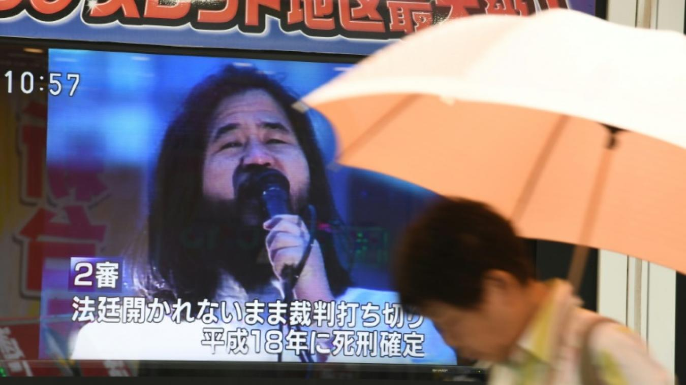 Japon: l'ancien Gourou de la secte Aum a été exécuté