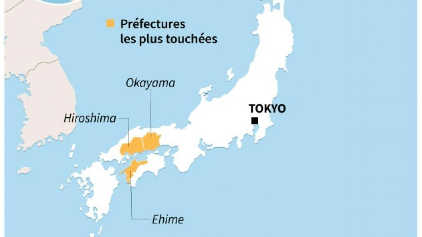 Inondations Au Japon Nouvelle Visite Du Premier Ministre Aux Sinistres