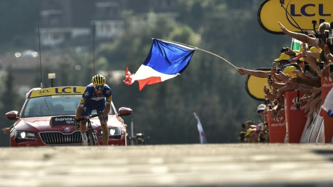 Tour De France Julian Alaphilippe La Victoire En Famille