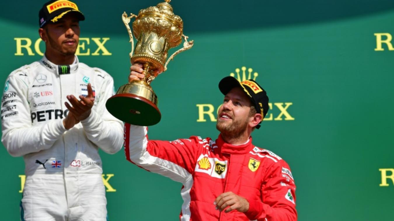 F1/GP d'Allemagne : la pole pour Vettel, Grosjean sixième
