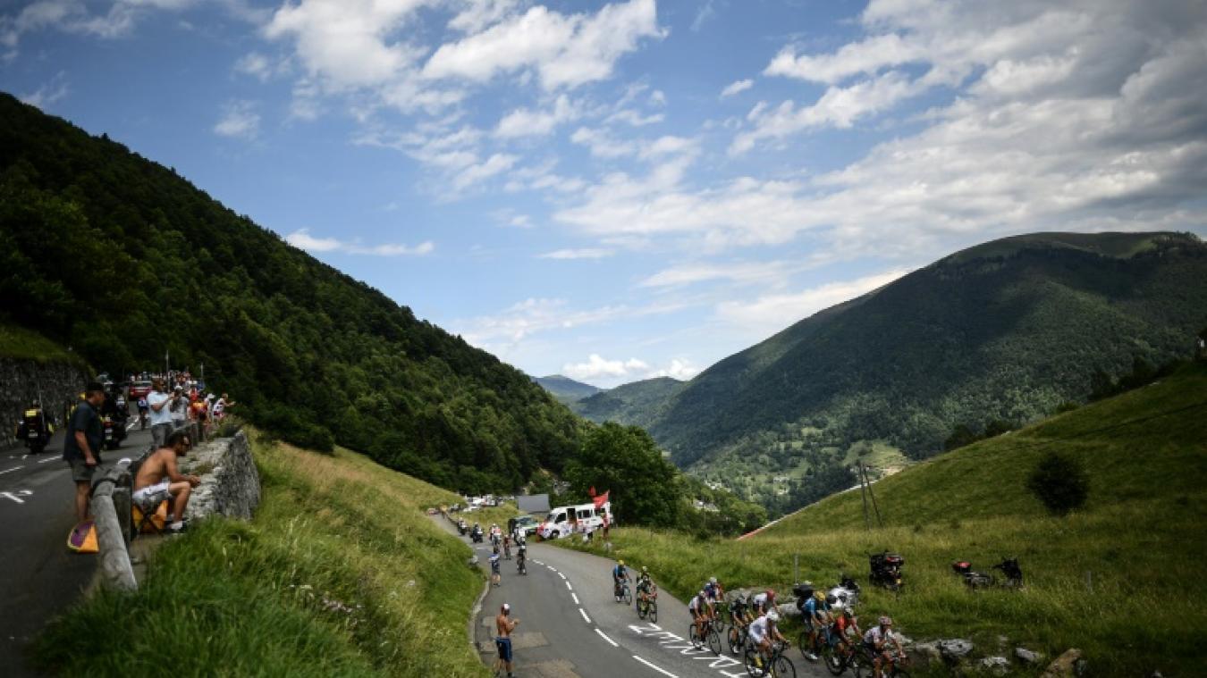 Vous n'avez jamais vu un départ pareil pendant le Tour de France