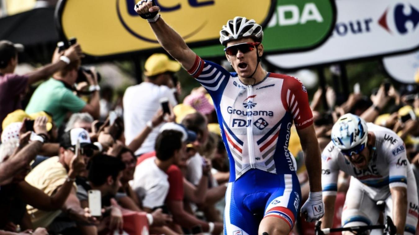 18h52 - Tour de France: au tour de Démare
