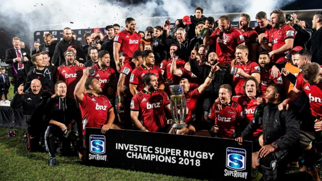 Les Crusaders domptent les Lions en finale — Super Rugby