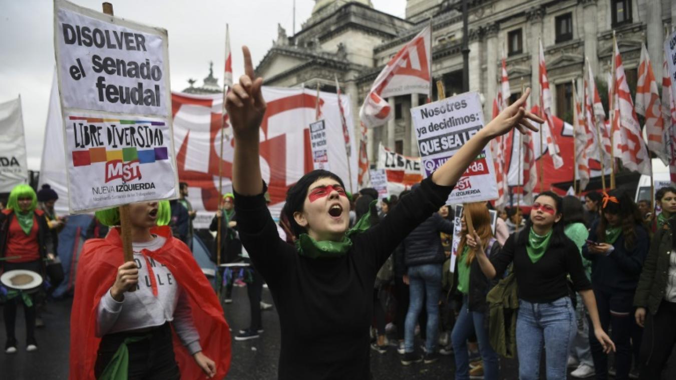 Argentine : les Sénateurs rejettent la légalisation de l'avortement