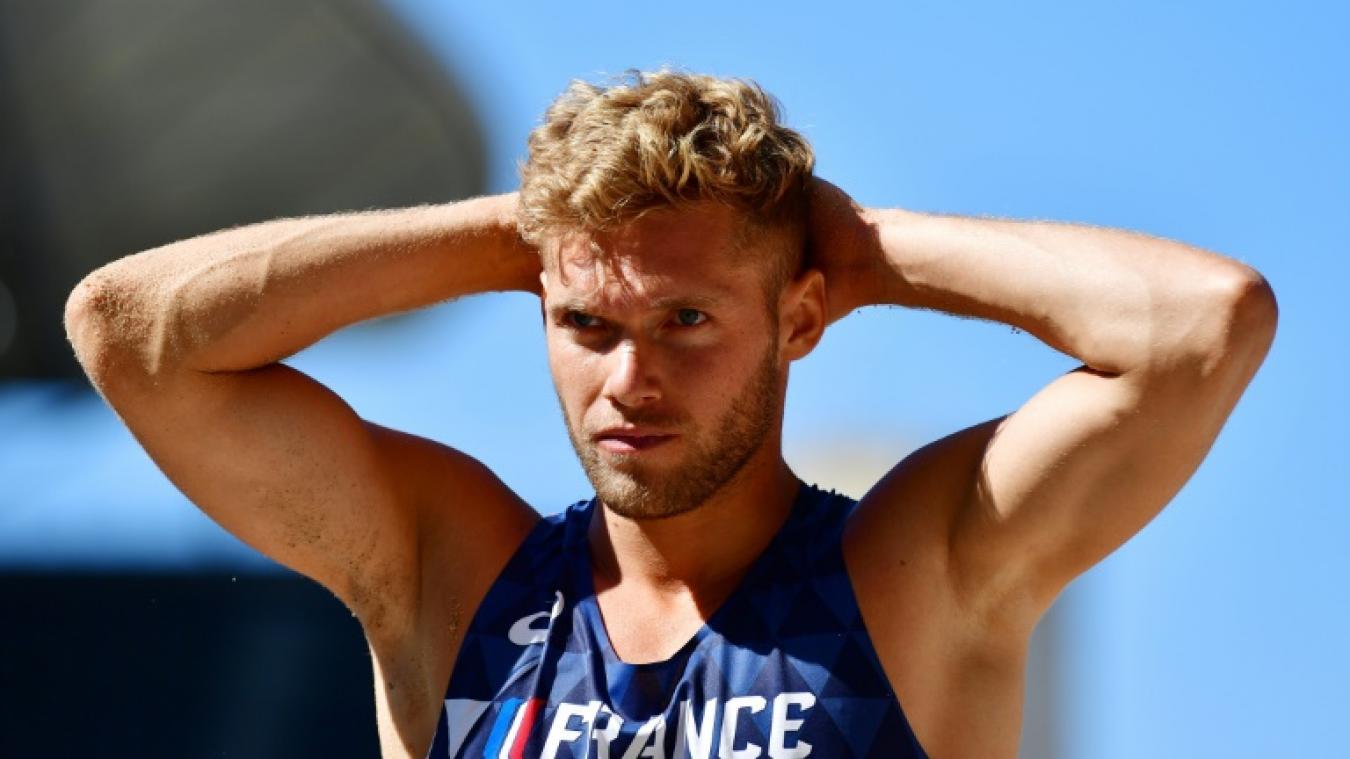 Kevin Mayer face à son échec — Athlétisme