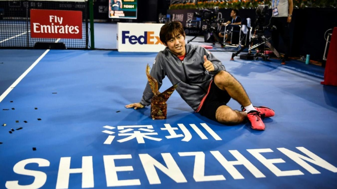 ATP Shenzhen: Nishioka vainqueur de sa première finale