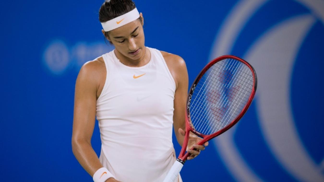 Caroline Garcia perd son titre à Pékin, le Masters s'envole