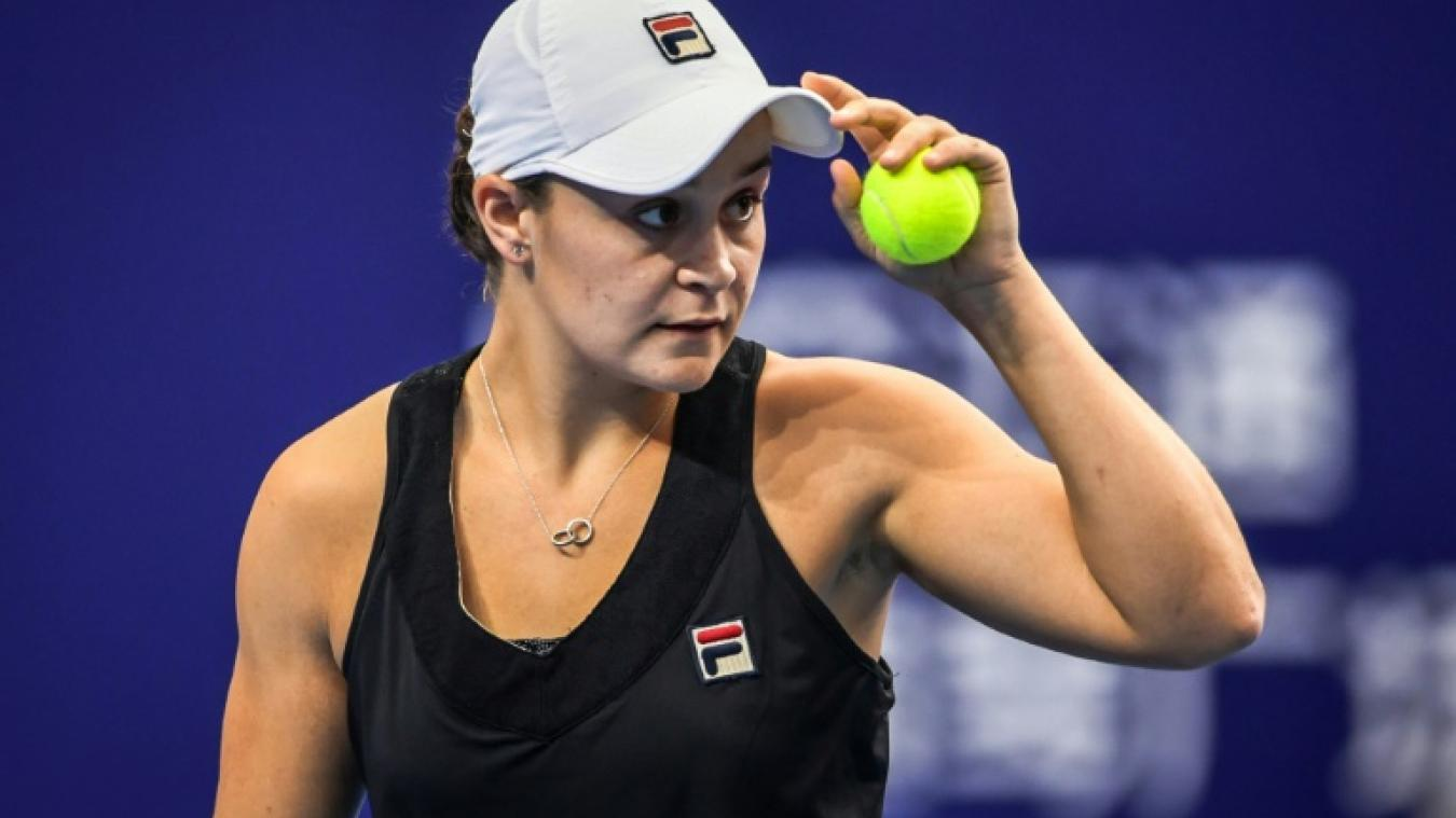 Ashleigh Barty s'impose en finale contre Wang Qiang — WTA Elite Trophy
