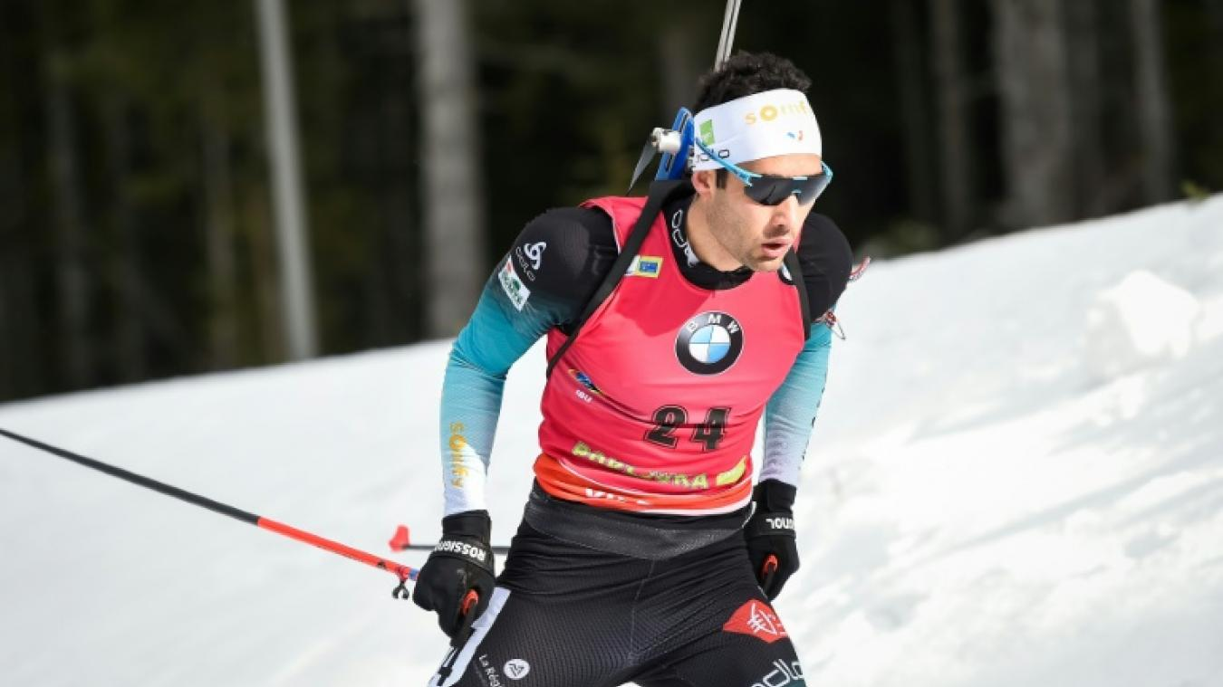 Biathlon  Martin Fourcade dans le flou 446e2508013b