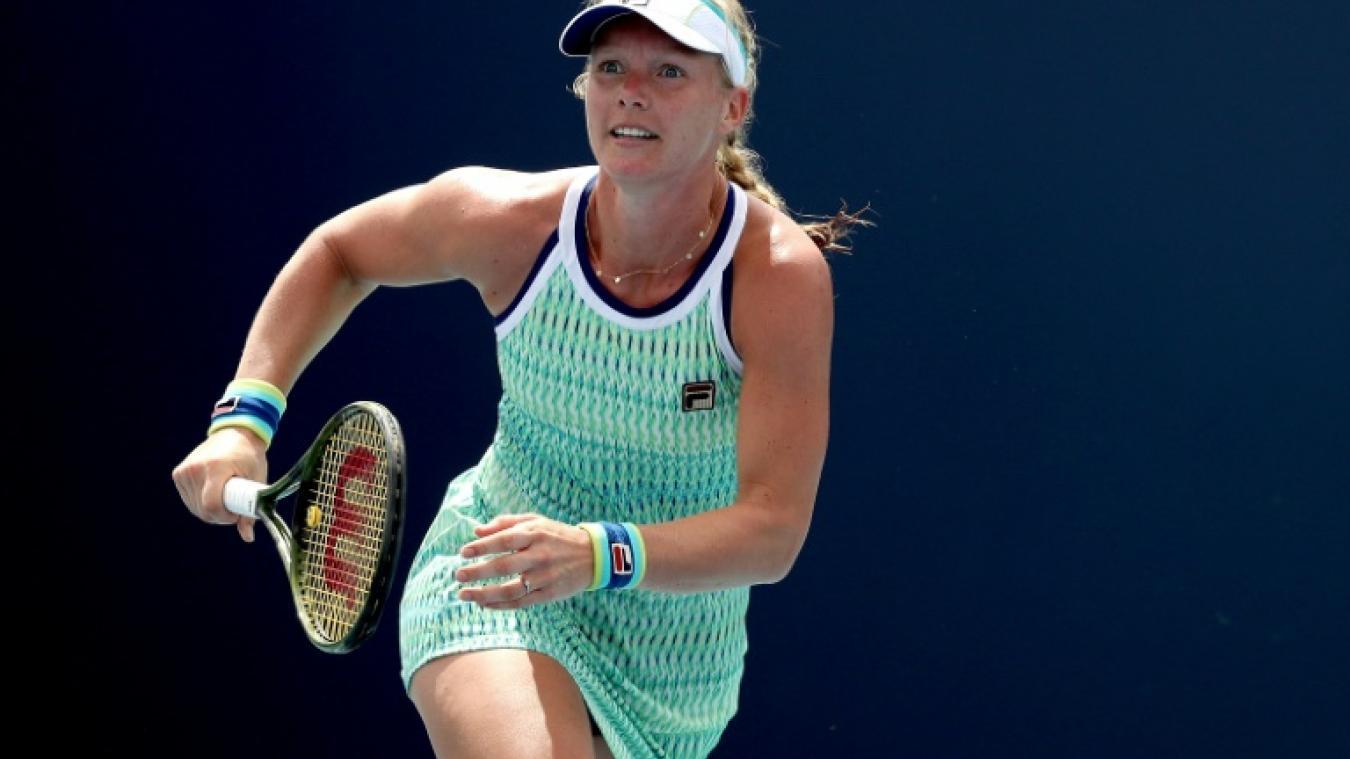 Tennis: Bertens, tenante du titre, éliminée à Charleston