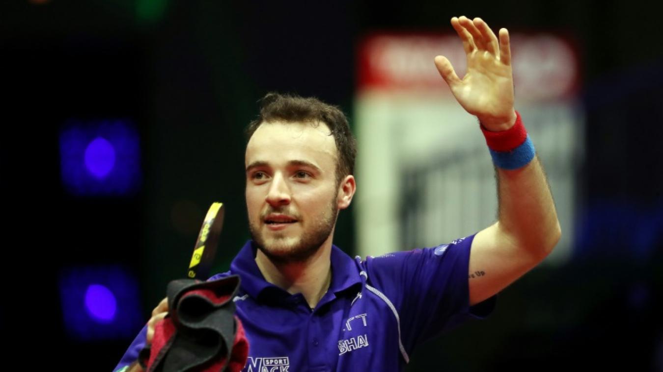 Simon Gauzy se qualifie pour les quarts de finale — Mondiaux