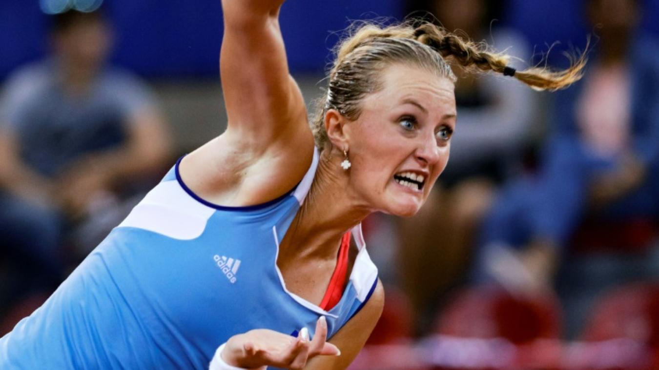 WTA Istanbul : Kristina Mladenovic éliminée à l'usure par Petra Martic