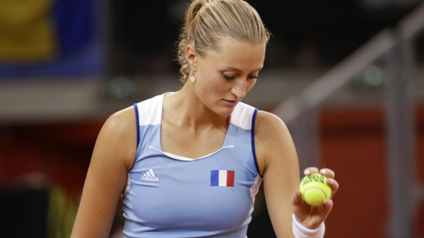 Mladenovic bute sur Kvitova au 2e tour — Tennis