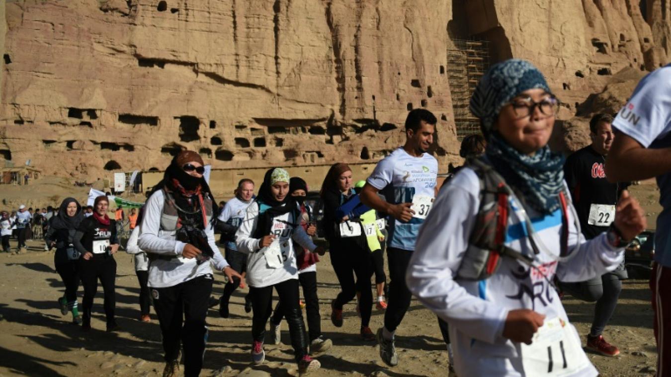 """Résultat de recherche d'images pour """"marathon de femmes à Mossoul"""""""