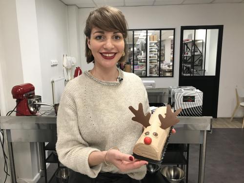 buche de noel 2018 meilleur patissier Lille   Rachel, lauréate du Meilleur pâtissier, vous a concocté  buche de noel 2018 meilleur patissier