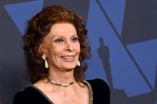 La grande actrice italienne Sophia Loren revient dans un nouveau film sur  Netflix