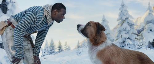 Omar Sy Dans L Appel De La Forêt Harrison Ford Sait Comment Je M Appelle