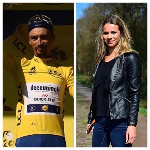 Cyclisme Julian Alaphilippe Officialise Sa Relation Avec La Nordiste Marion Rousse