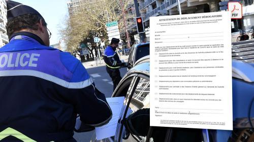 Couvre Feu L Attestation Derogatoire De Deplacement A Telecharger Pour Circuler