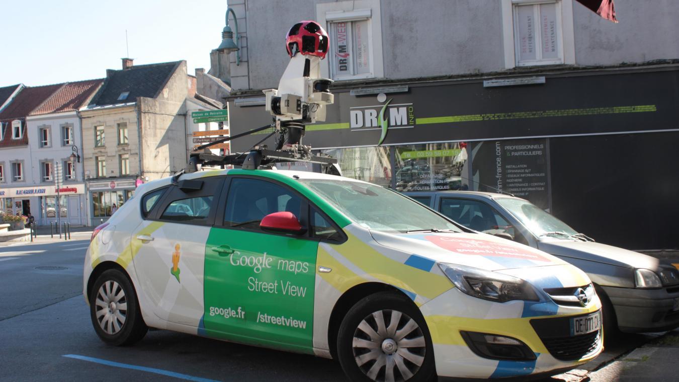 La Voiture Google Street View Sillonne Les Routes Du Ternois