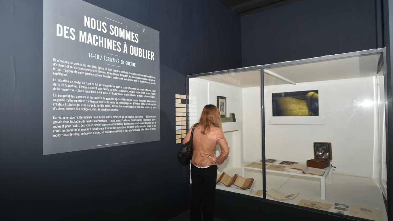 7b52fa6a589f EXPOSITION  «Nous sommes des machines à oublier»  à l Historial de ...