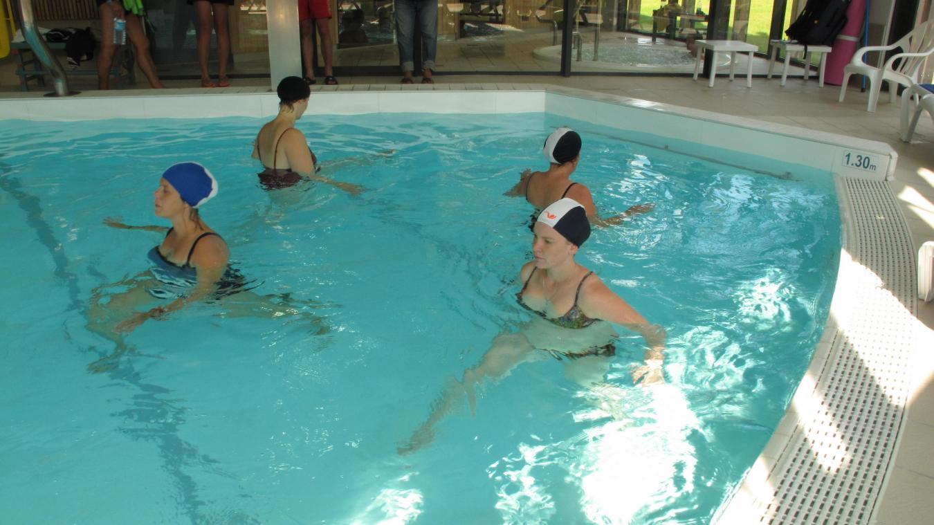 Des Exercices Adaptés à La Grossesse Permettent Aux Futures Mamans De  Préparer Leur Corps à Lu0027accouchement. -