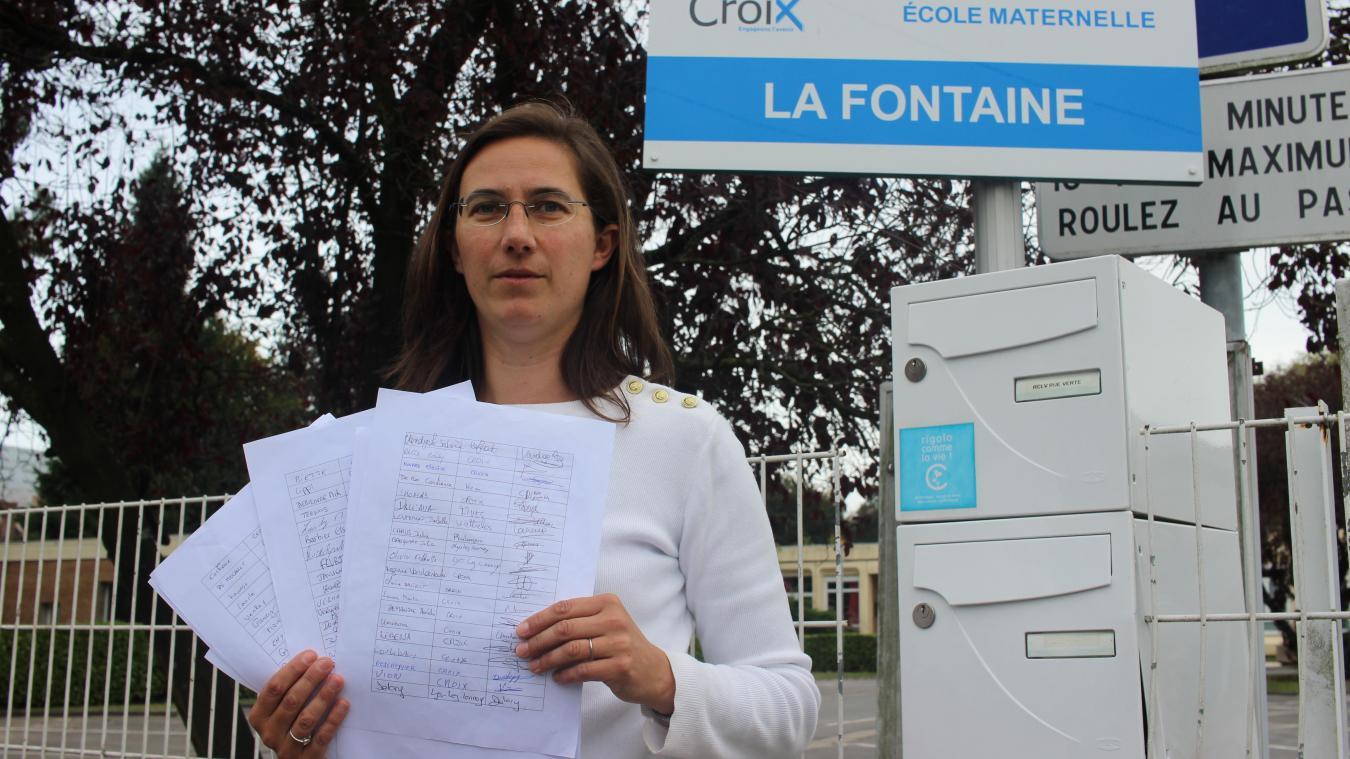 5bd0e6c2dac Hélène Ternois a lancé une pétition pour que la municipalité revienne sur  sa décision de supprimer