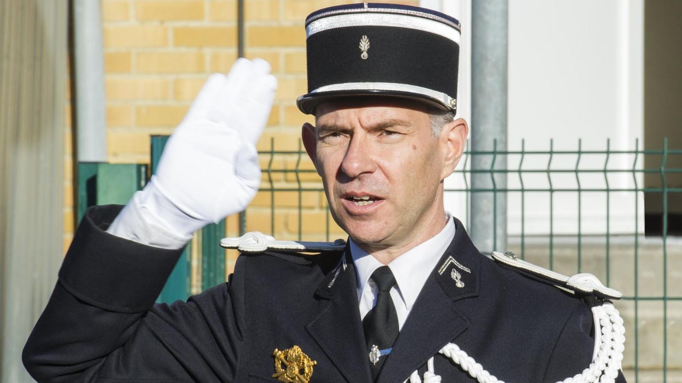 Bouchain: le nouveau patron de la gendarmerie officiellement intronisé