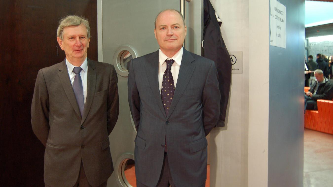 Yves Vetele Directeur General De Paragon Et John Rogers Vice President