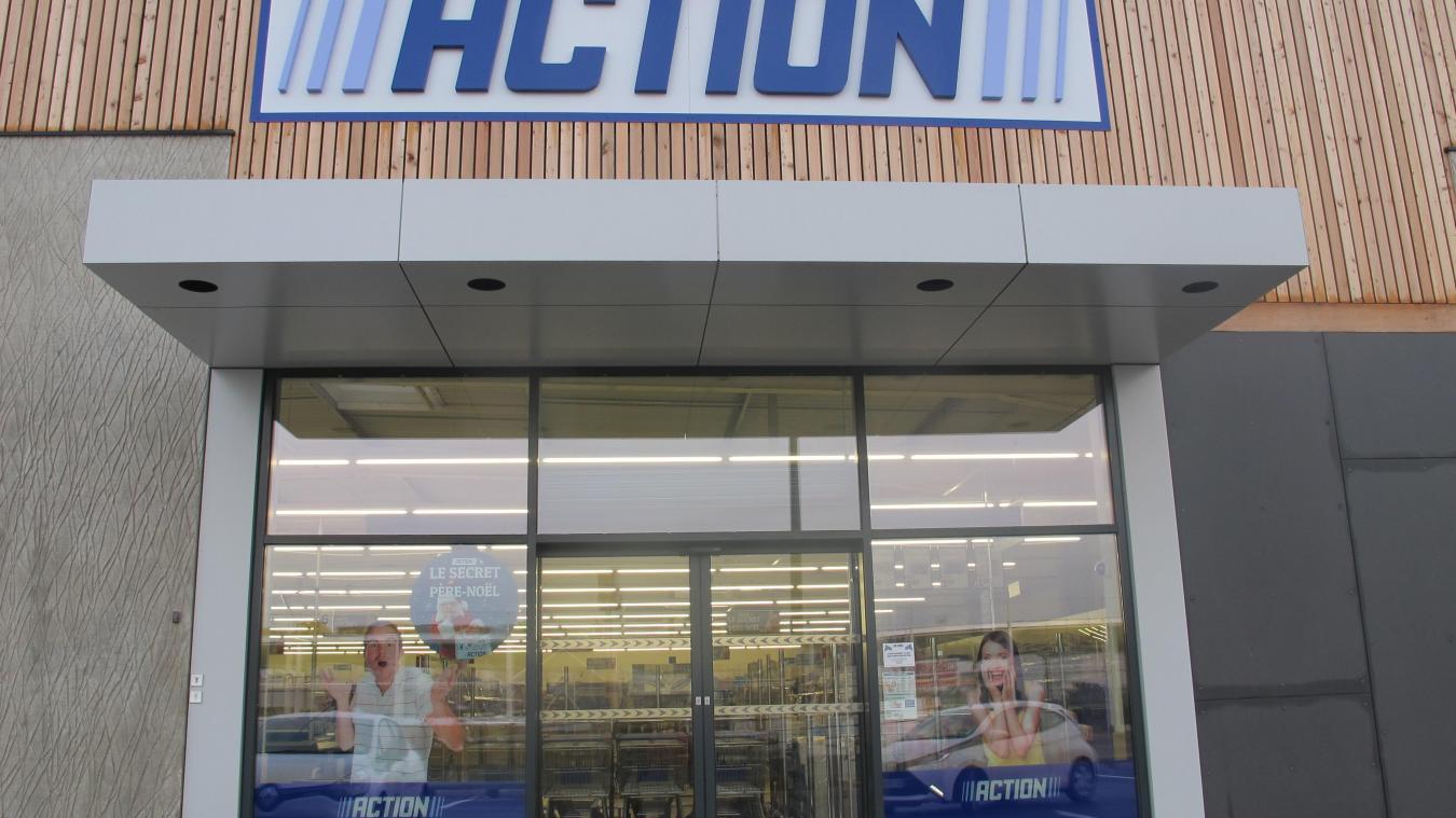 hazebrouck - jeudi, action sera le premier magasin à ouvrir à la
