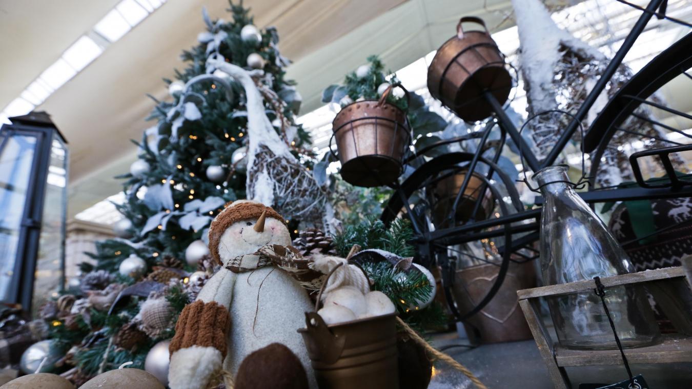 floralux decoration noel 2018 Métropole lilloise: Décos de Noël: le match des magasins belges floralux decoration noel 2018
