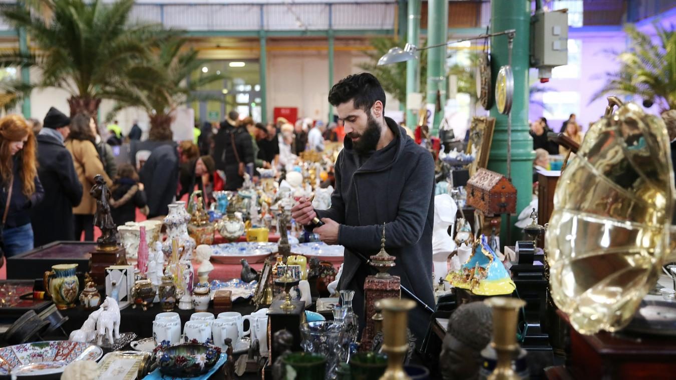 lille: un week-end de brocante qui se conjugue au féminin-masculin