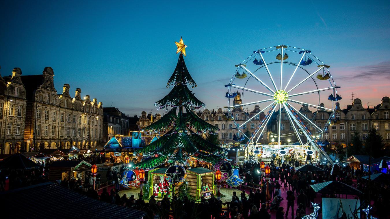 marché de noel 2018 nord Arras : les dix plus belles photos du marché de Noël   La Voix du Nord marché de noel 2018 nord