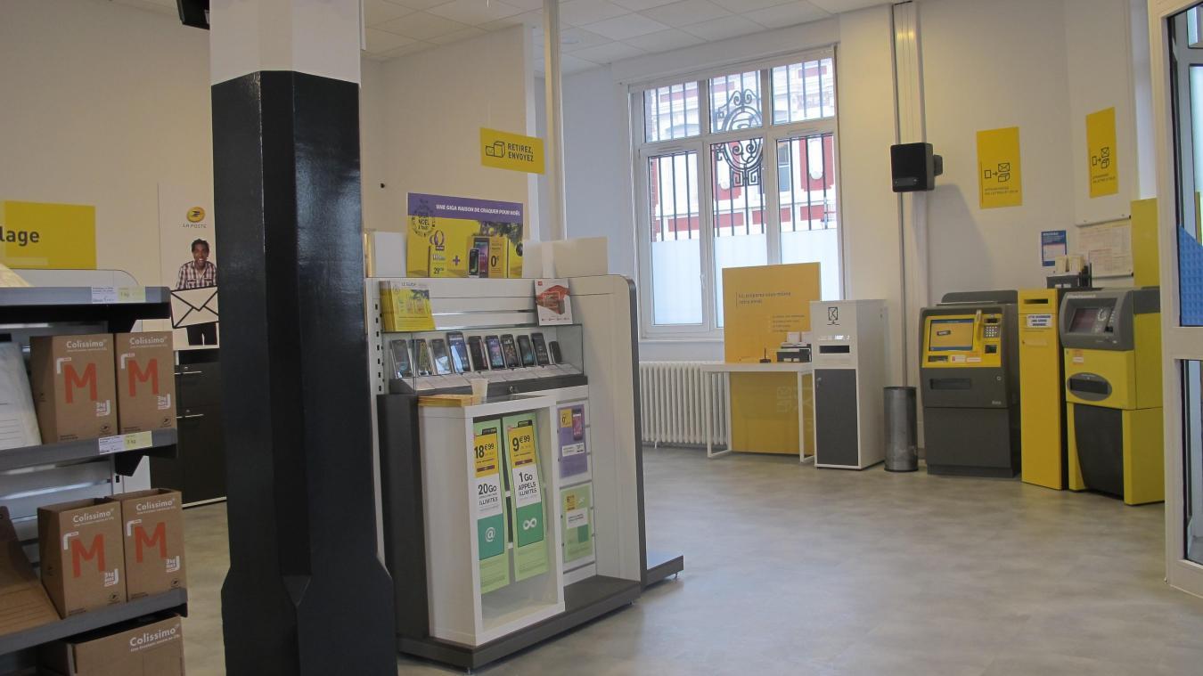 Hazebrouck nouveau bureau de poste : fini « la ligne de guichet et