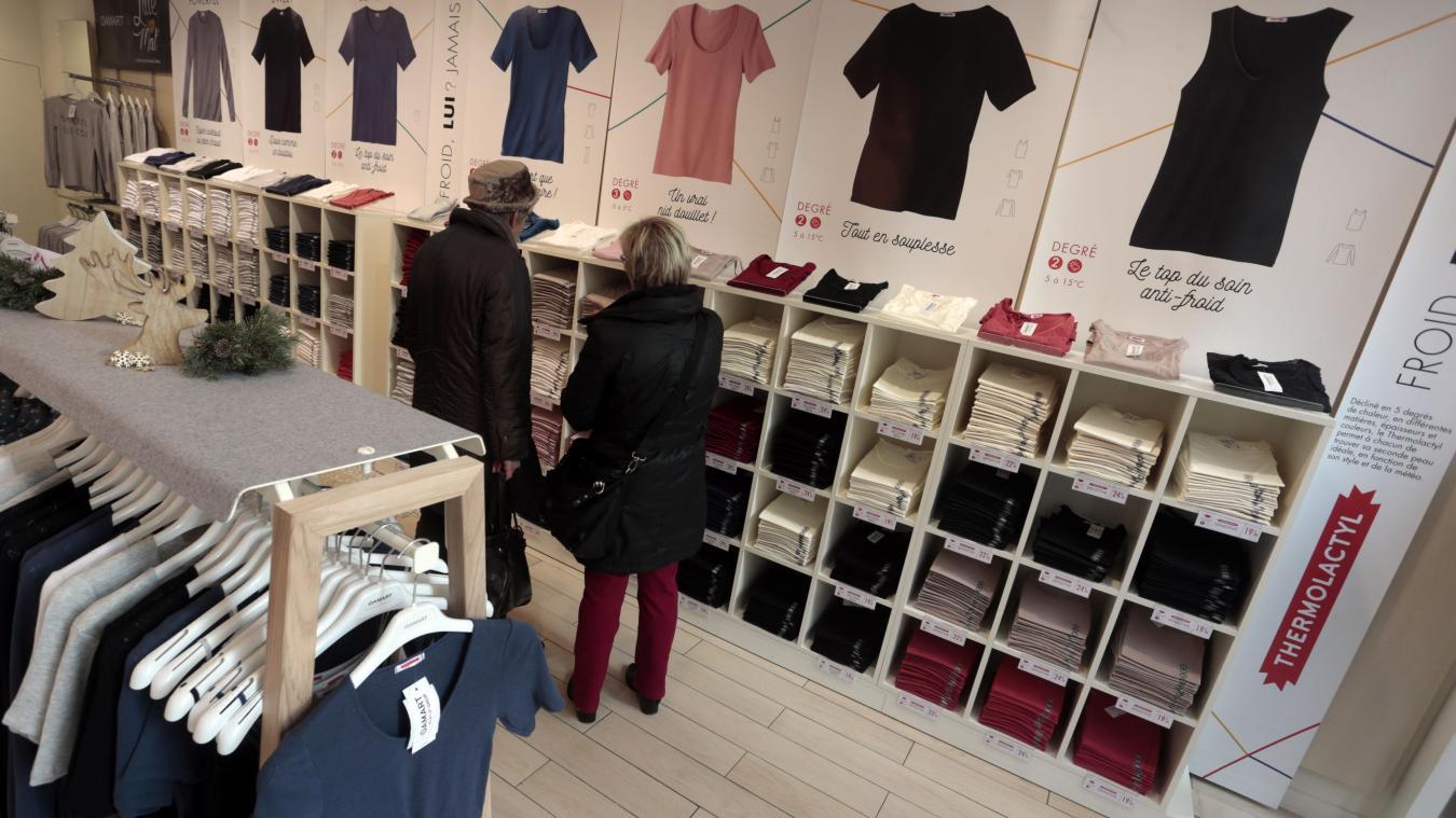 fashion style hot new products free delivery LILLE Damart veut réchauffer son image et ouvre sa boutique ...