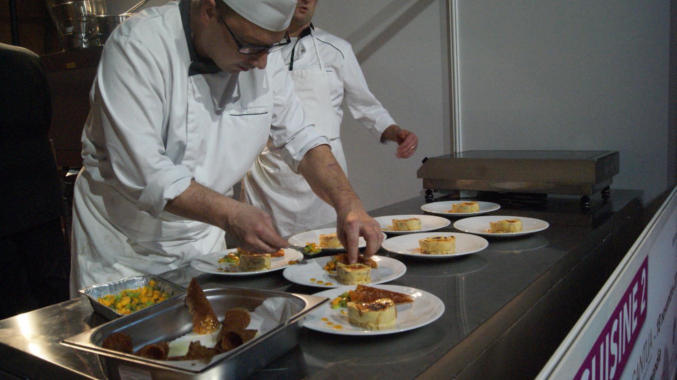 MARCQ-EN-BARŒUL: Damien Catrice deviendra-t-il le meilleur cuisinier on