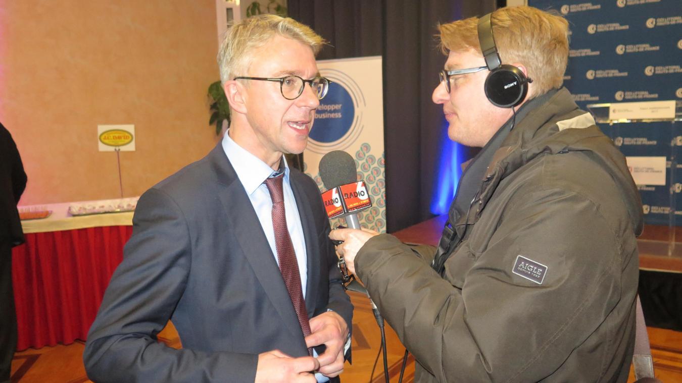David Brusselle, Directeur Général De La CCI Hauts De France, A Détaillé