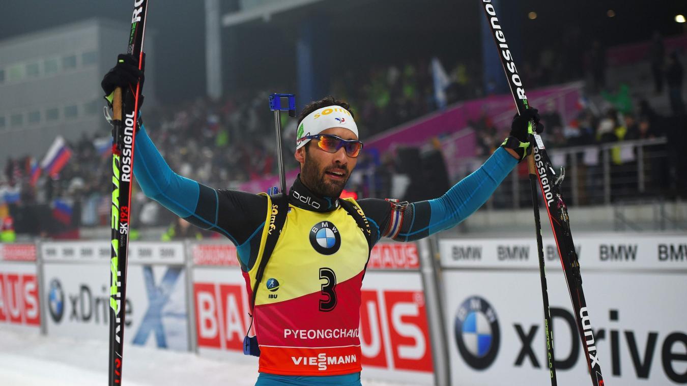 Biathlon  Et encore un record pour Martin Fourcade! 859970856641